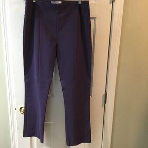 MM La fleur  gorgeous NWOT purple work pants